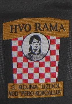 insignes Croate H.V et H.V.O 1991/1995 31bojnaUzdol-vodPeroKovcalija