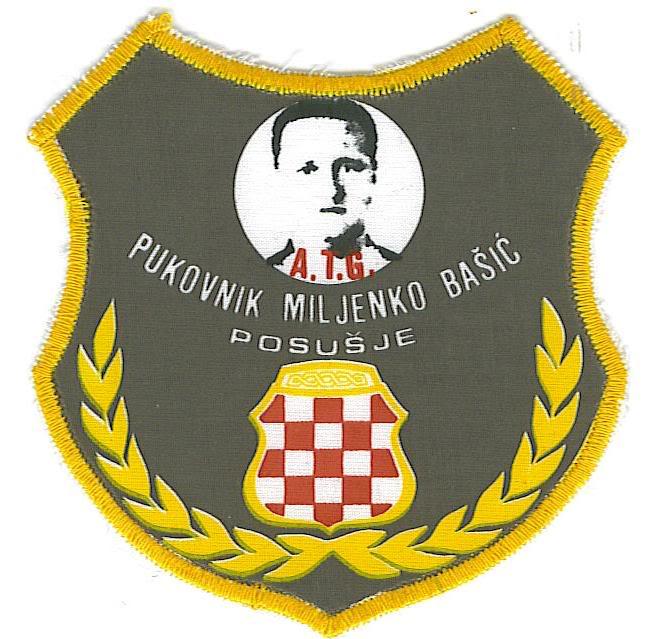 insignes Croate H.V et H.V.O 1991/1995 ATG