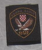 insignes Croate H.V et H.V.O 1991/1995 Alphaforce-BrunoBusic