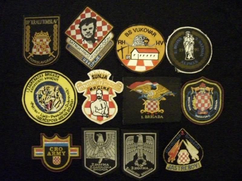 insignes Croate H.V et H.V.O 1991/1995 CIMG1804