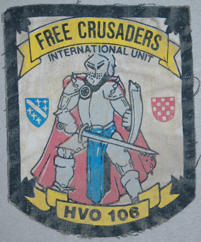 insignes Croate H.V et H.V.O 1991/1995 HVO106