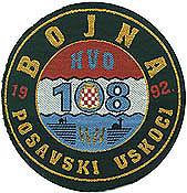insignes Croate H.V et H.V.O 1991/1995 HVO108uskoci