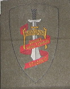 insignes Croate H.V et H.V.O 1991/1995 BrigadaKraljTomislav
