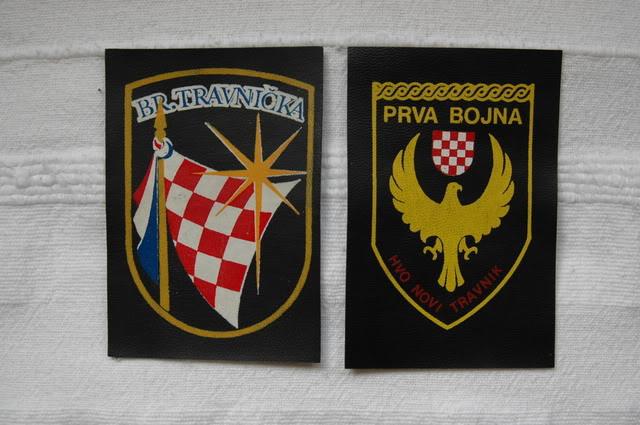 insignes Croate H.V et H.V.O 1991/1995 Hvo-2
