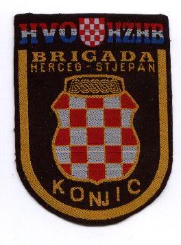 insignes Croate H.V et H.V.O 1991/1995 Konjic