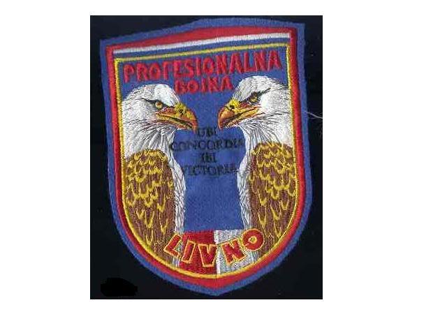 insignes Croate H.V et H.V.O 1991/1995 Livno