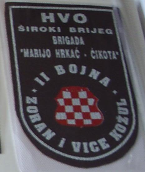 insignes Croate H.V et H.V.O 1991/1995 Pavo1