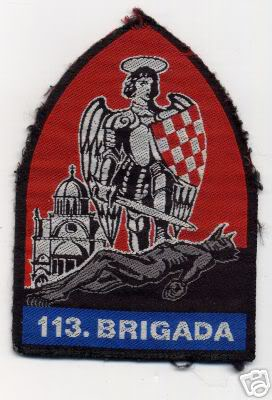 insignes Croate H.V et H.V.O 1991/1995 Sibenik1