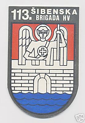 insignes Croate H.V et H.V.O 1991/1995 Sibenik2