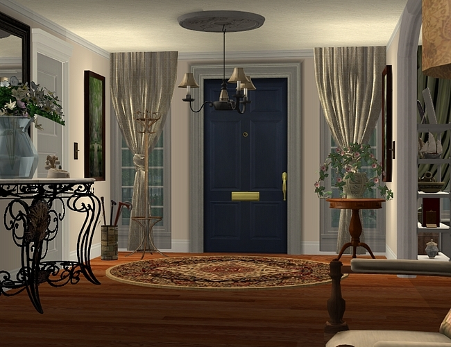 Here's the Latest from The Ladies of Sugah's Place... The%20Charleston%20foyer