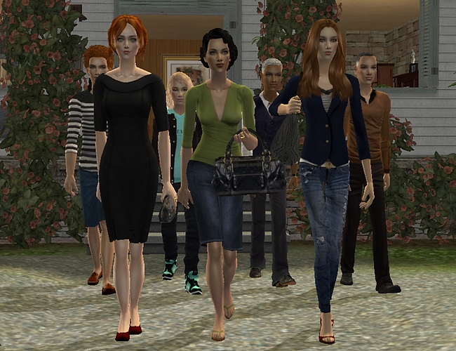 Sugah's Place is celebrating our Senior and Teen Sims! TheWomenStraun