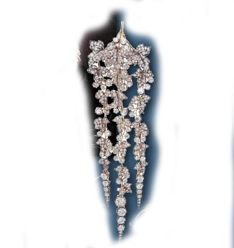 Eugenia de Montijo, emperatriz de Francia - Página 2 Hair-jewels