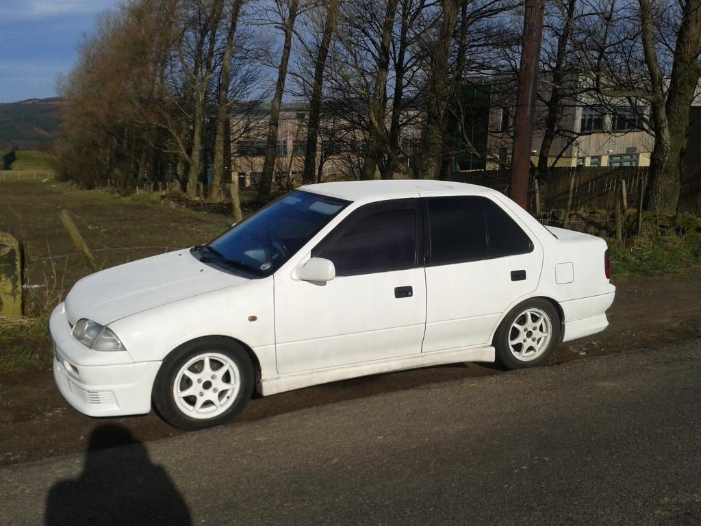 1991,  Suzuki Swift , £1200 ONO Sheffield 2014-02-22130225