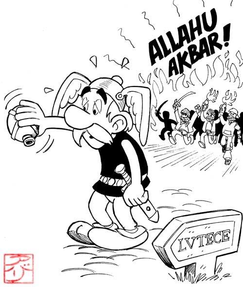 Humour Asterix_a_lutece