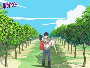 Madhouse produce un corto anime para comercial de Dulces Megumi-and-Taiyo-meji-candy-comercial