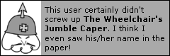 Wheelie's Talk Page- Err, Forum Game Jumble Caper! WheelchairTalkGame