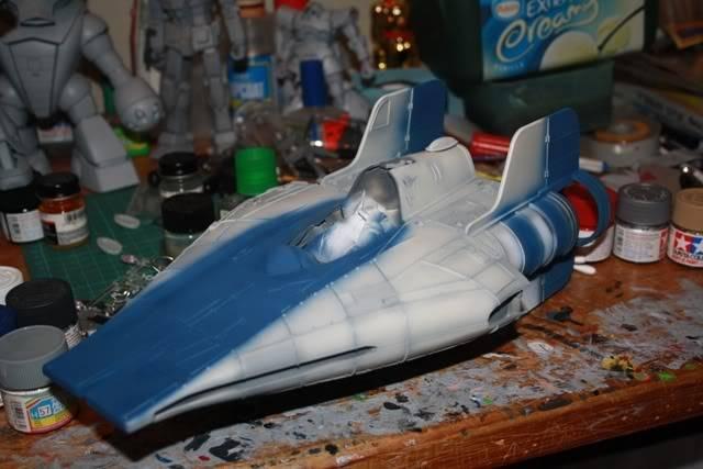 Hasbro Awing repaint wip Awing001