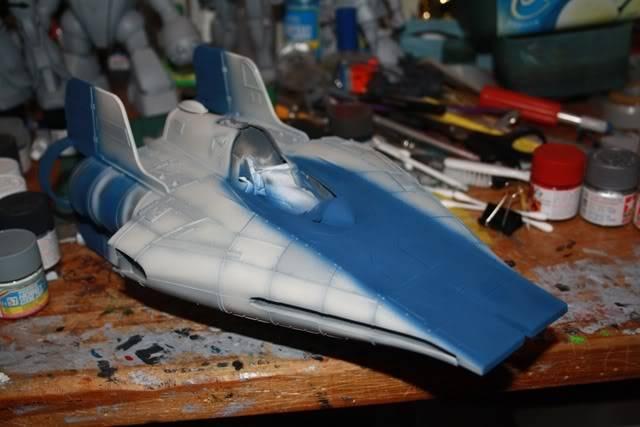 Hasbro Awing repaint wip Awing002