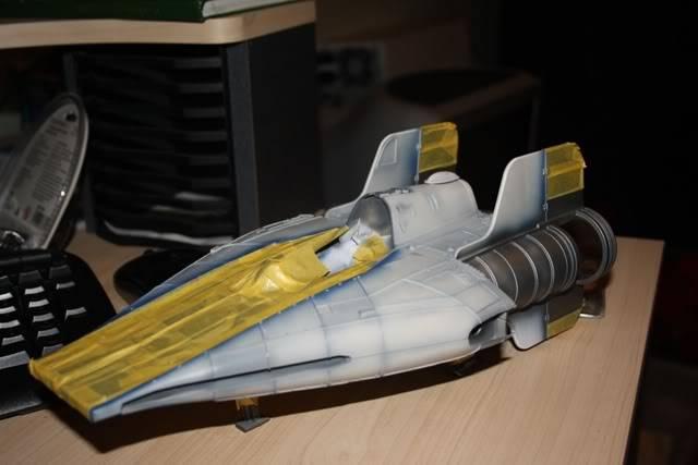 Hasbro Awing repaint wip Awing006