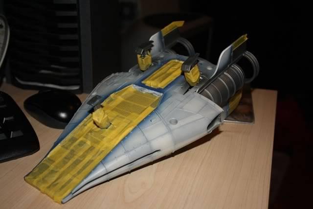 Hasbro Awing repaint wip Awing008