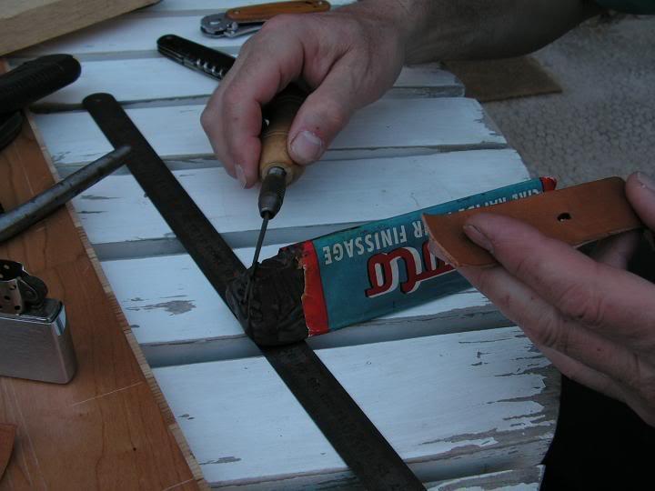 Tutorial : faire son propre bracelet Panerai (très long) Cire2