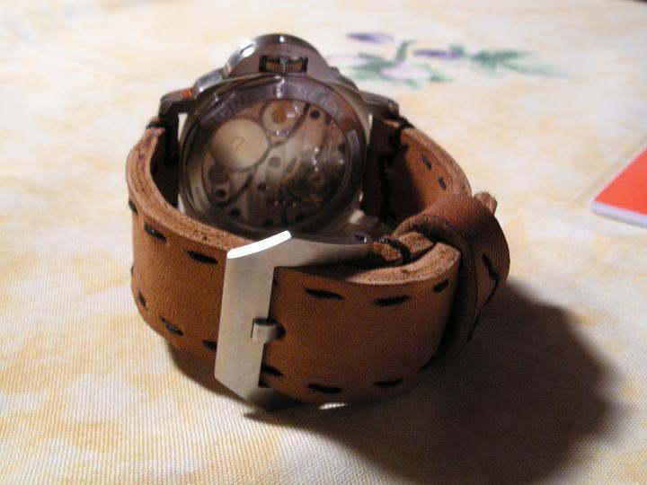 Tutorial : faire son propre bracelet Panerai (très long) Essai