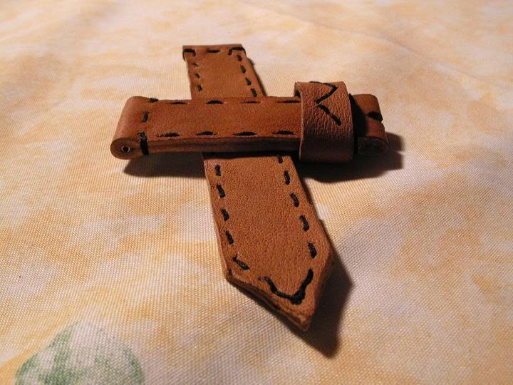 Tutorial : faire son propre bracelet Panerai (très long) Fincouture
