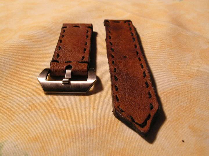 Tutorial : faire son propre bracelet Panerai (très long) Fini