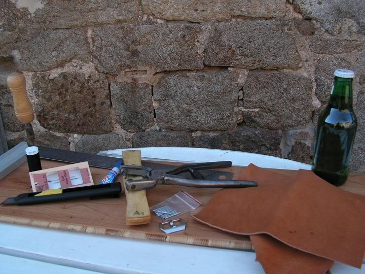 Tutorial : faire son propre bracelet Panerai (très long) Matos
