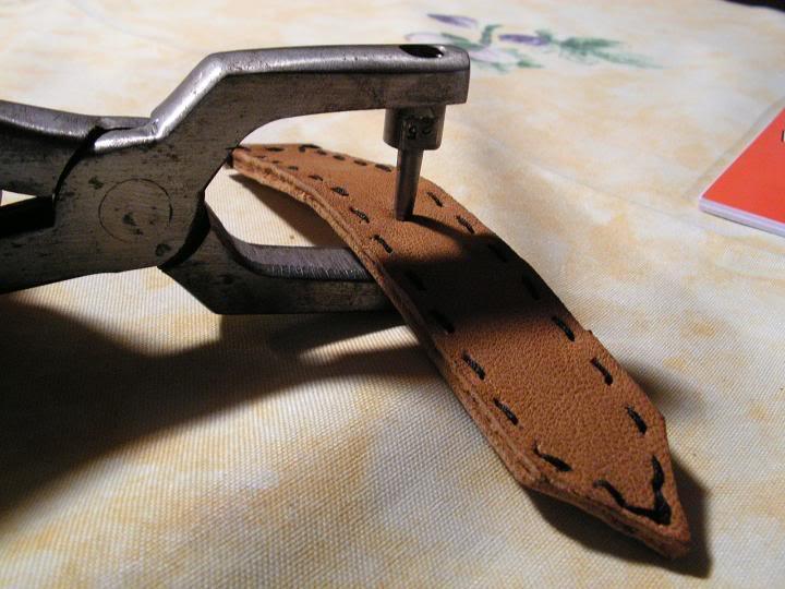 Tutorial : faire son propre bracelet Panerai (très long) Peragetrous