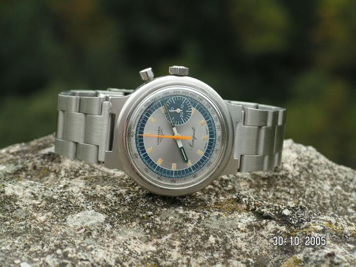 Feu de vos montres à cadran bleu clair Olympic1