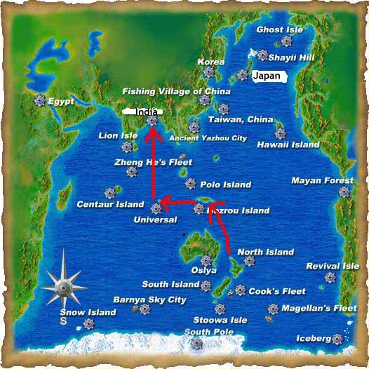 Guide to boating around the world India2