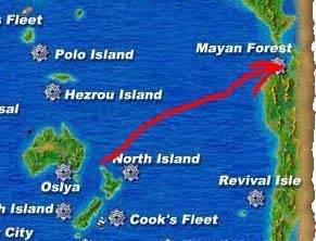 Guide to boating around the world Maya