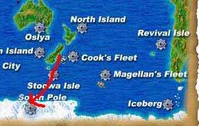 Guide to boating around the world Southpole2