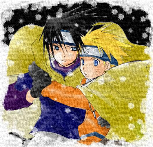 Imagenes de la serie Naruto SasukexNaruto946