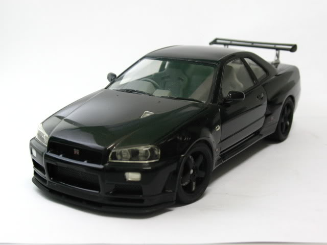 1/24 Nissan Skyline R34 GTR V-Spec II Model2005