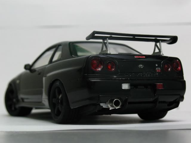 1/24 Nissan Skyline R34 GTR V-Spec II Model2006