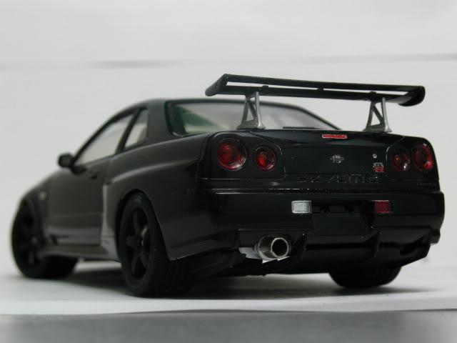 1/24 Nissan Skyline R34 GTR V-Spec II Model2006
