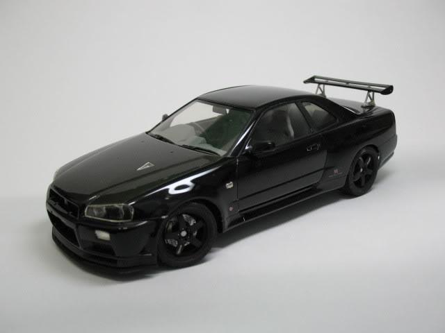 1/24 Nissan Skyline R34 GTR V-Spec II Photo002