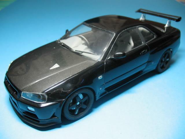 1/24 Nissan Skyline R34 GTR V-Spec II Skyline002