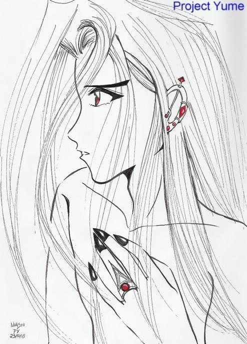 Desenhos da Miashi Lian