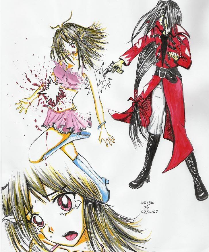 Desenhos da Miashi Corre