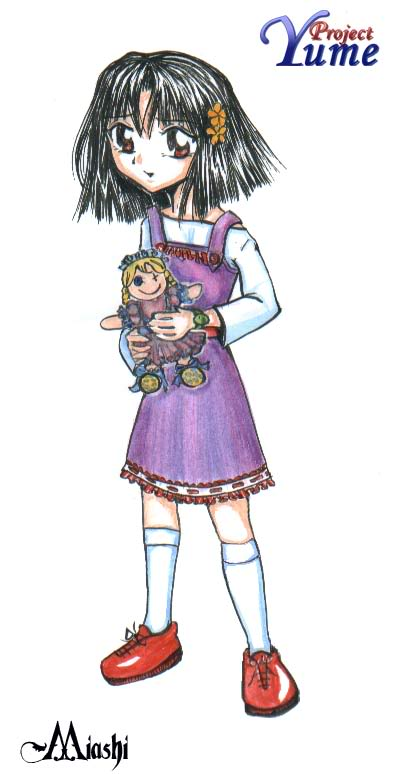Desenhos da Miashi Eiko-Infanto