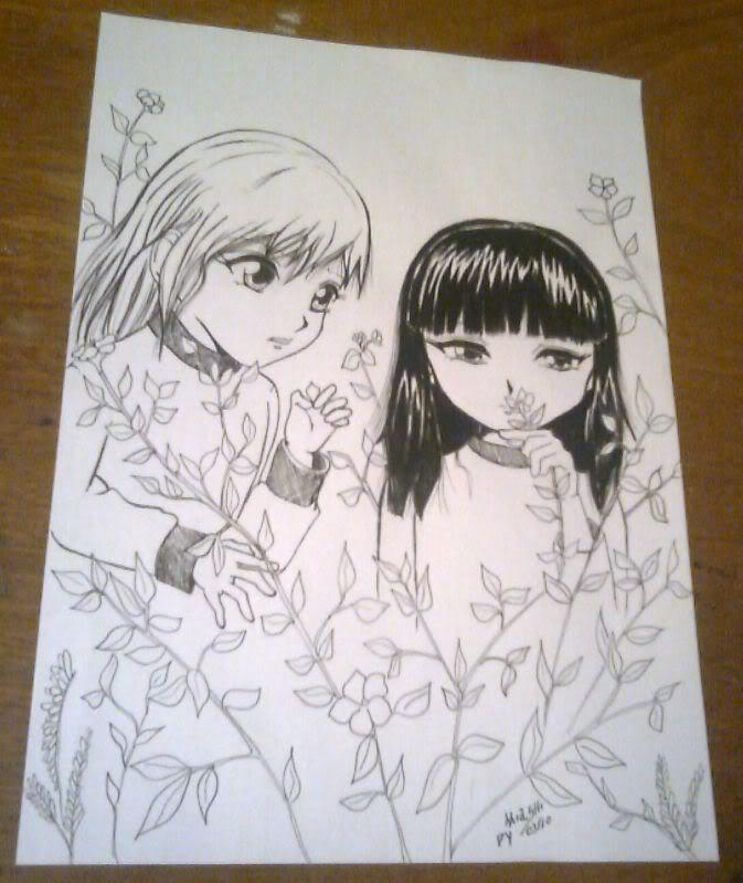 Desenhos da Miashi Larieloraine2