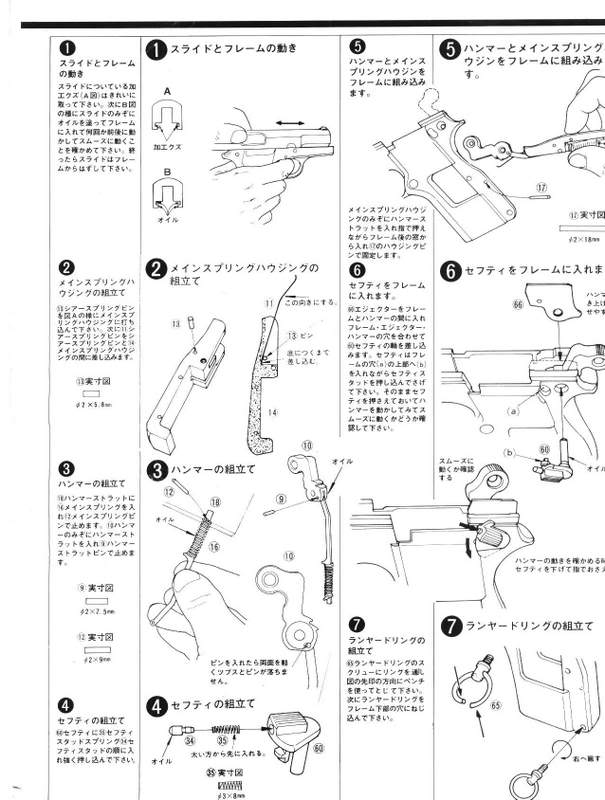 Browning Hi-Power M1935 Instructions FN-3
