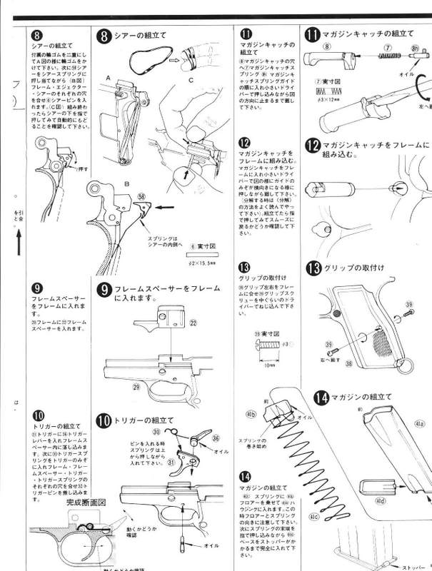 Browning Hi-Power M1935 Instructions FN-4