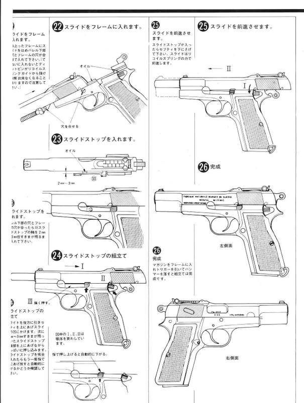 Browning Hi-Power M1935 Instructions FN-7