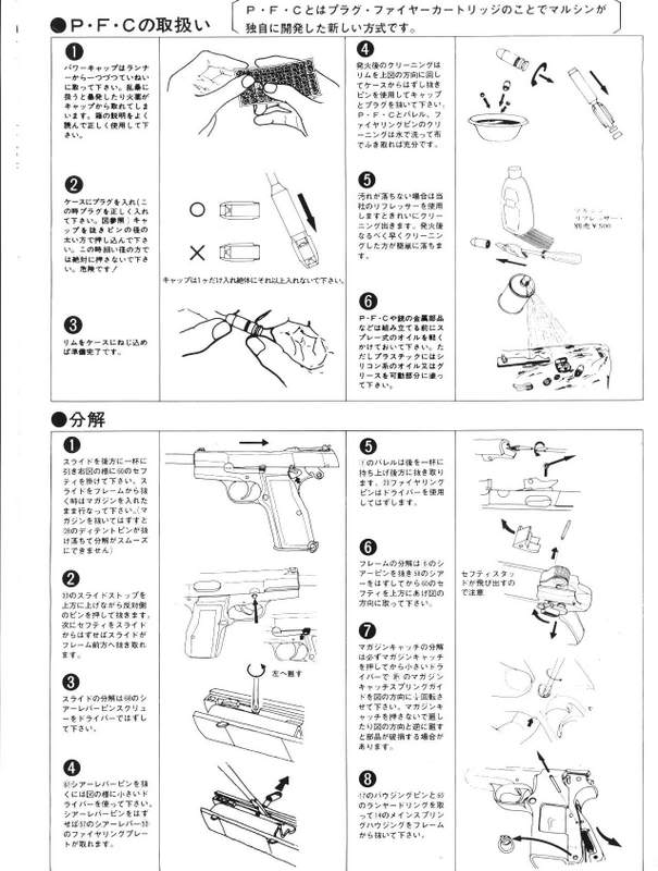 Browning Hi-Power M1935 Instructions FN-9