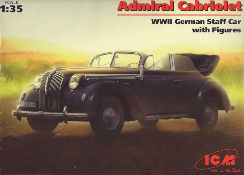 Opel Admiral (ICM 1/35) OpelAdmiralICM-B00