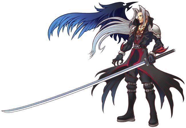[Kingdom Heart] [Sephiroth Version] Sephiroth1